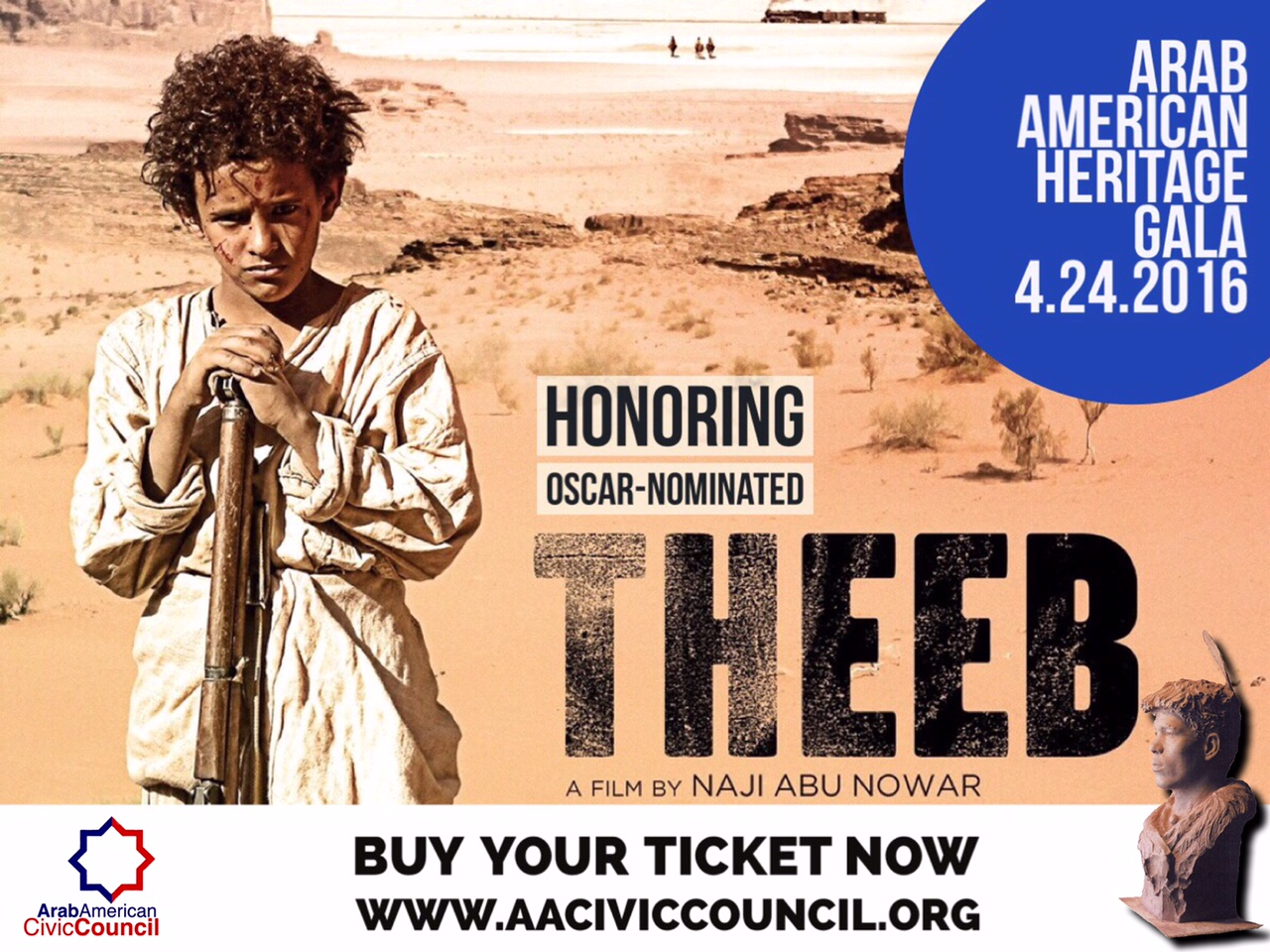 Honoring Oscar Nominated Film Theeb At Arab American